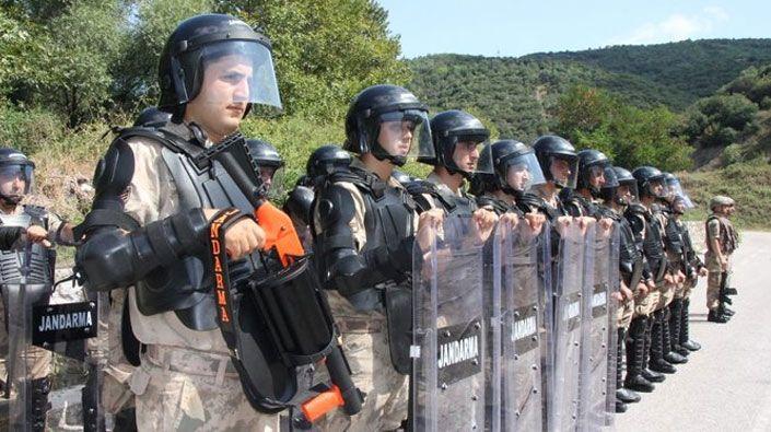 Kocaeli'nde, Jandarma Komando Bölüğü kuruldu