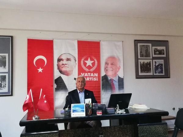 Vatan Partisi İl Başkanı Yalçın Arslan'dan 30 Ağustos mesajı