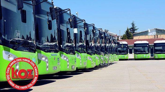Büyükşehir Belediyesi 90 tane otobüs alacak
