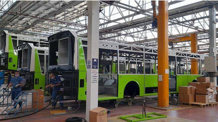 Kocaeli'nin yeni otobüsleri hazırlanıyor!