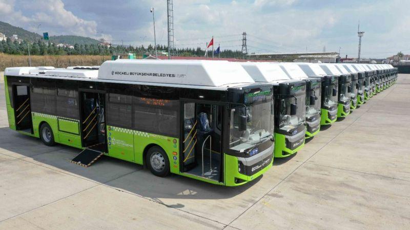 İşte Kocaeli'nin yeni otobüsleri!