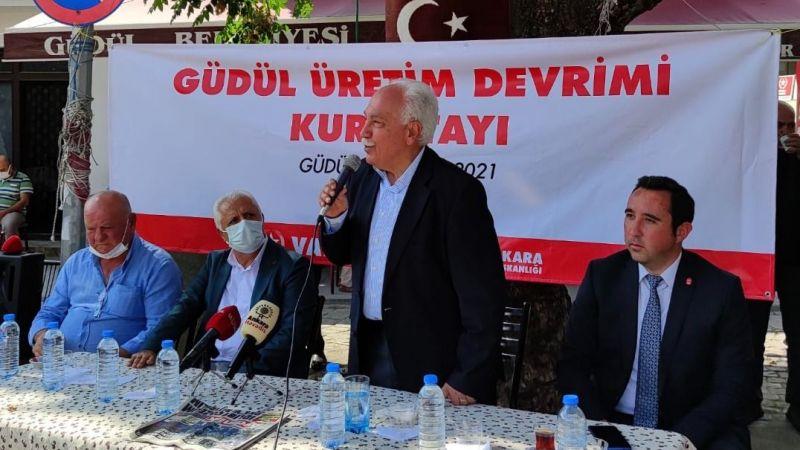 Doğu Perinçek: Çiftçi üretirse Türkiye kazanır