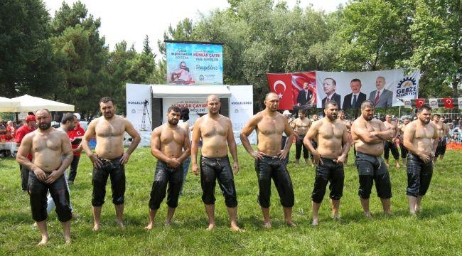 Hünkar Çayırı'nda başpehlivanlar geçidi