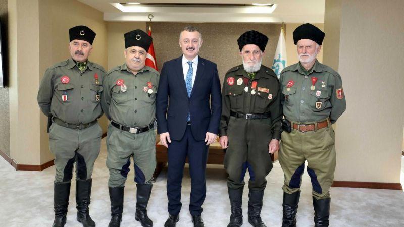 """Büyükakın: """"Türk milleti şehitlik ve gaziliği en büyük rütbe bilmiştir"""""""