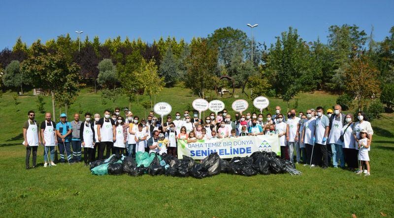 SEDAŞ gönüllüleriKocaeli'de çevre temizliği yaptı