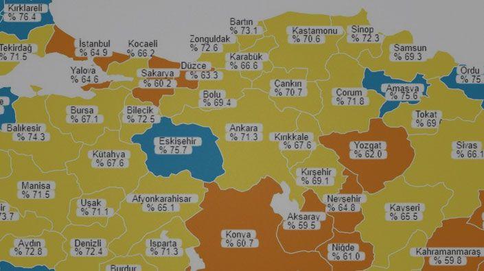 Tablo değişti oranlar ortaya çıktı… İşte Kocaeli'nin gerçek aşılama oranı