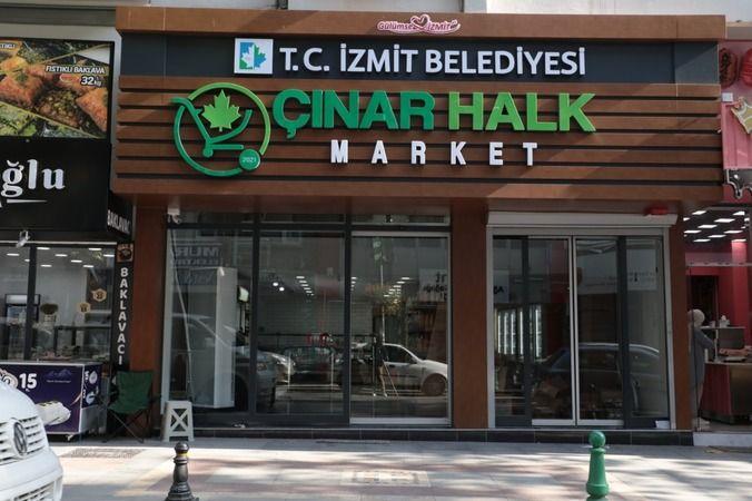 Çınar Halk Market27 Eylül'de açılıyor