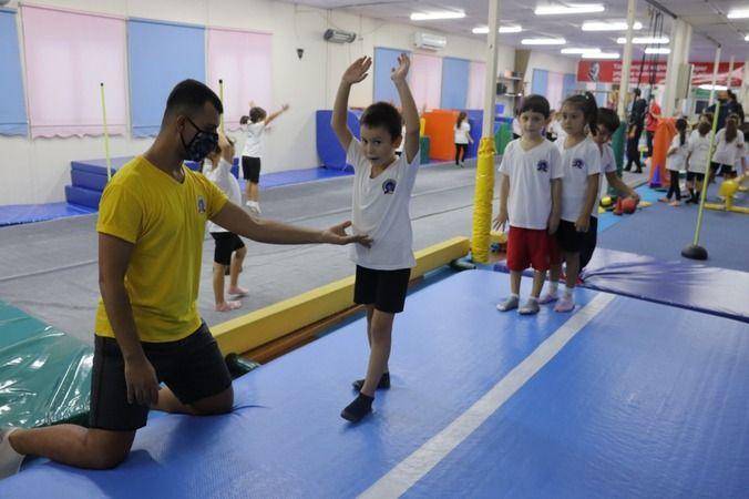 Avrupa Hareketlilik Haftasıjimnastik şovuyla renklendi