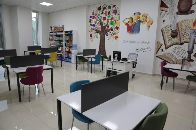 Gençler, İZGİM Etüt Merkezi'nde sınavlara hazırlanabilecek