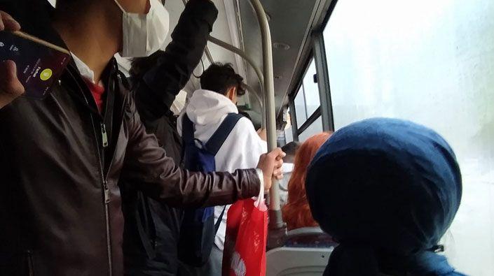 Otobüslerde koronavirüs bulaşmıyor mu?