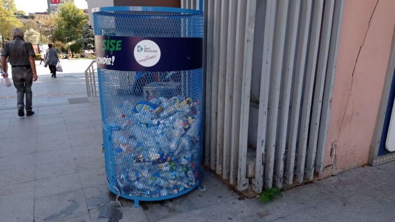 1 ton plastikşişe geri dönüşüme kazandırıldı