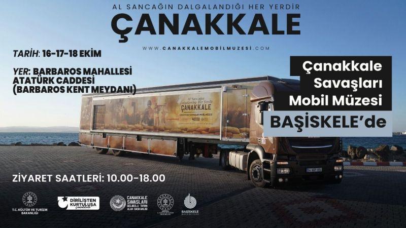 Çanakkale Mobil Müze Başiskele'ye geliyor