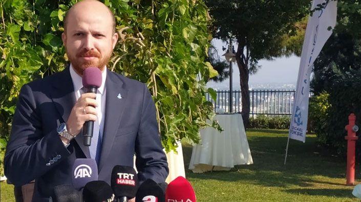 """Bilal Erdoğan Ensar Vakfı Kocaeli Şubesinin açılışında konuştu... """"Geçmişini bilmeyen geleceğini nasıl kursun"""""""
