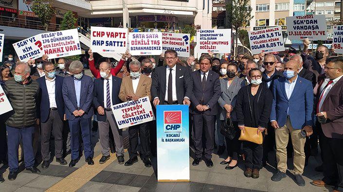 """CHP'nin Belsa tepkisi devam ediyor… Yıldızlı: """"CHP yaptı AKP sattı"""""""