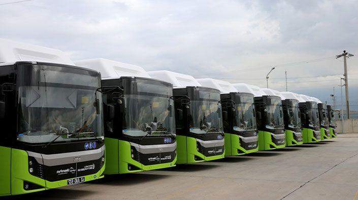 90 yeni otobüs için ihale yapıldı!