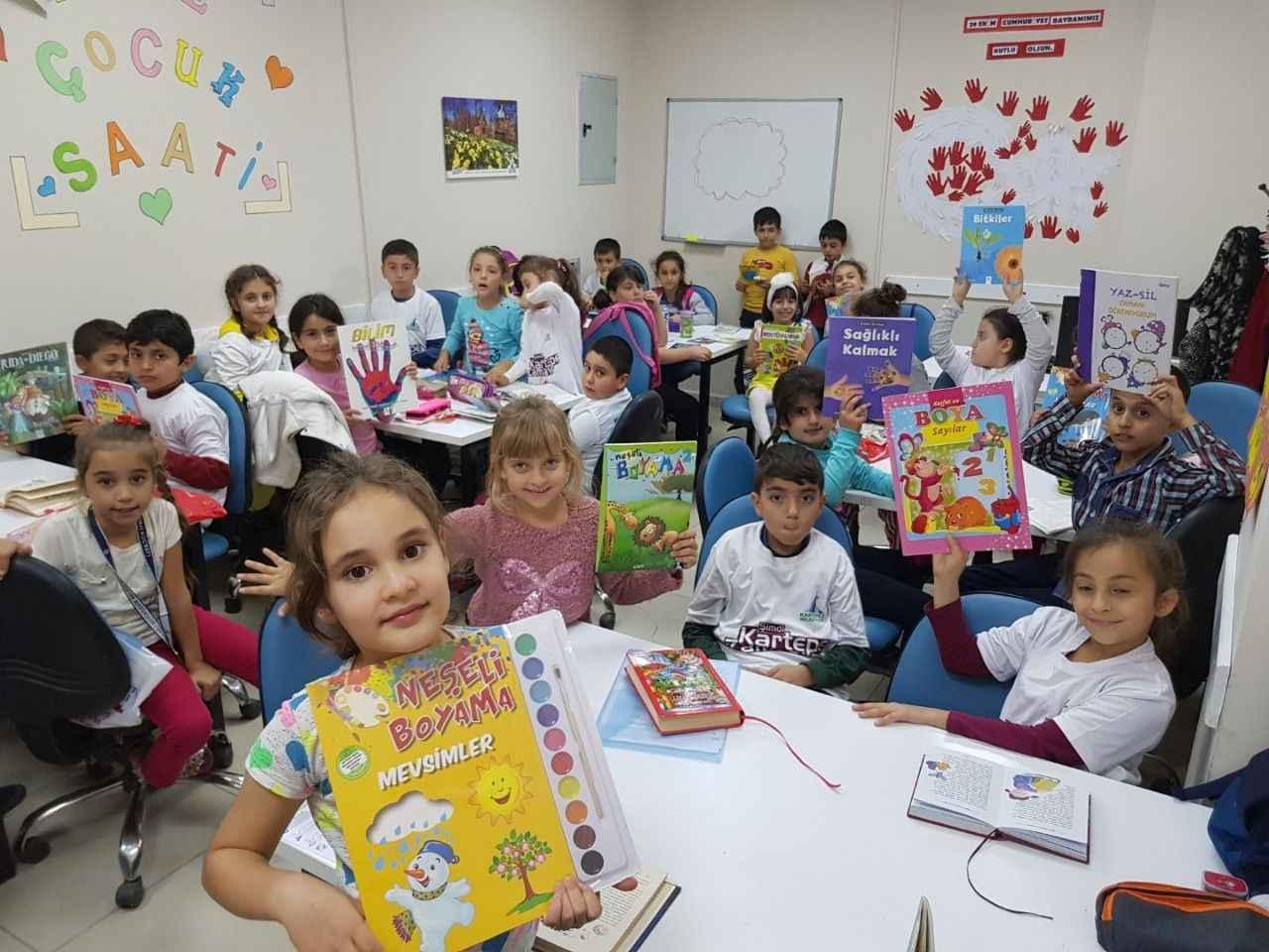 Kitap Okuma Sevgisi Cocuklara Asilandi Kocaeli Gazetesi Evdekal