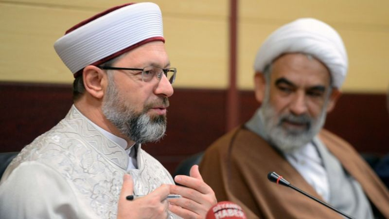 Diyanet İşleri Başkanı Prof. Dr. Erbaş: Kudüs tüm Müslümanların meselesidir