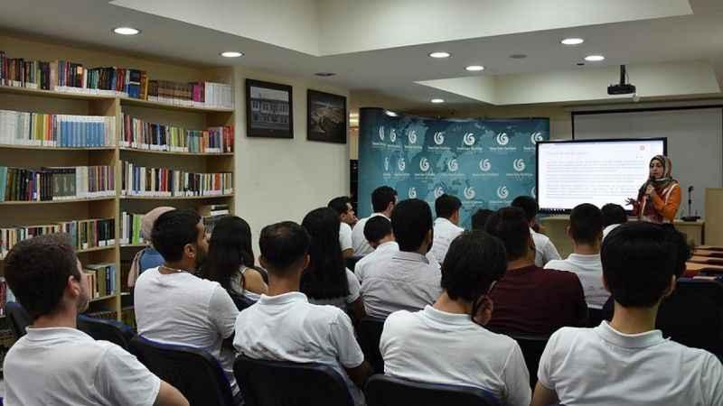 Lübnan'daki YEE'nin Türkçe kurslarına yoğun ilgi