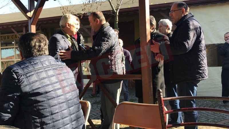 AKP'li meclis üyesi CHP'li vatandaşın üzerine yürüdü