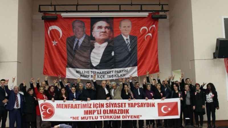 MHP Körfez'de meclis üyesi adaylarını tanıttı