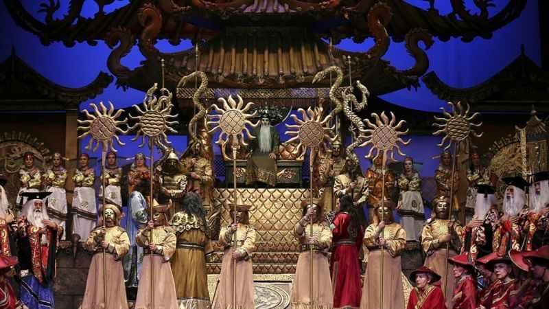 Çin prensesi Turandot 20 yıl sonra başkentte