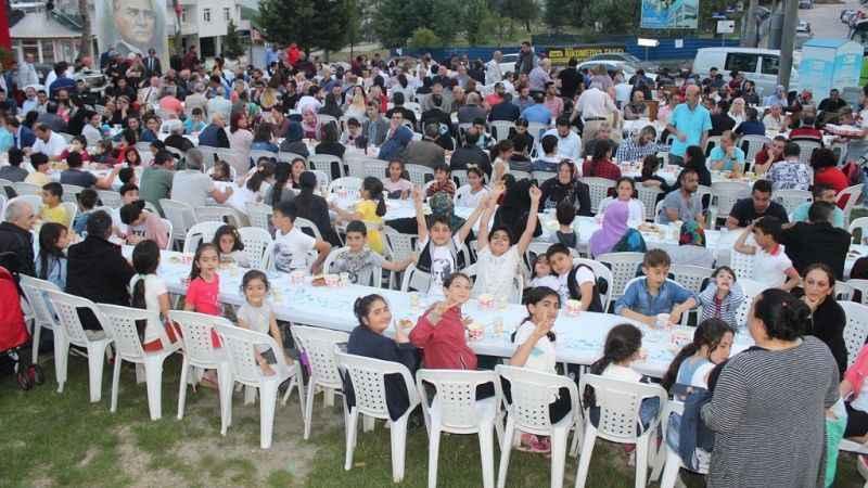 Küçükkaya'dan halk iftarı