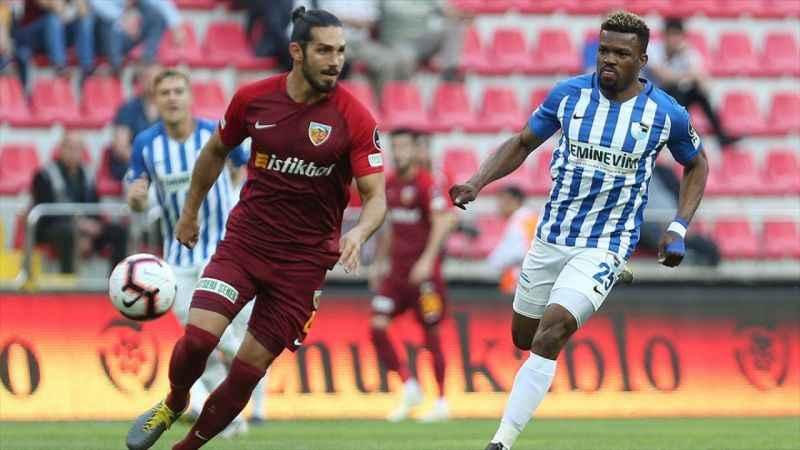 Erzurumspor Süper Lig'e galibiyetle veda etti