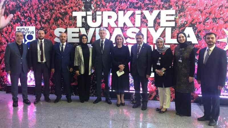 AKP'nin kutlama programına Kocaeli'den yoğun katılım