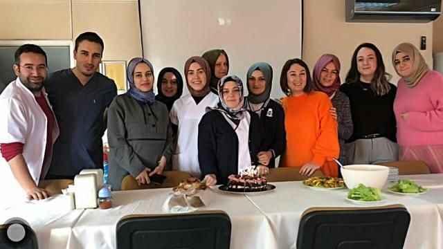 Canan Türkdemir'e güzel kutlama