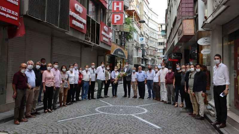 CHP Kocaeli, Kandıra İlçe Örgütü'nü ağırladı