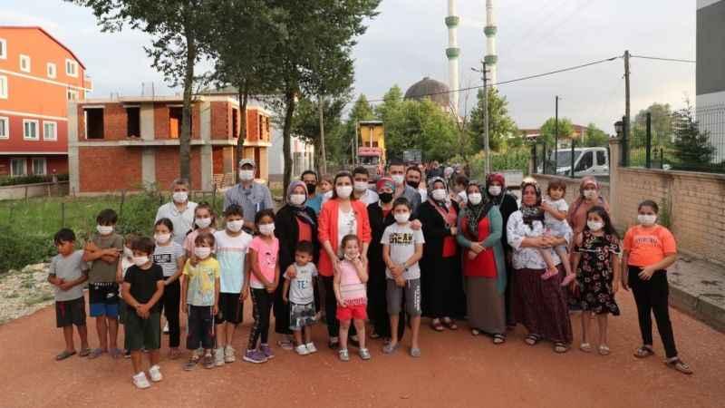 Başkan Hürriyet'ten Alikahyalı çocuklara park müjdesi