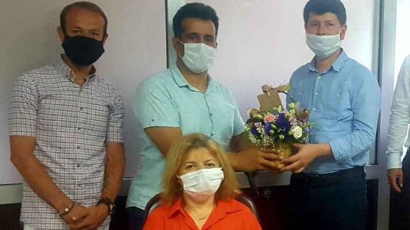 Engelli dernekleri yeni müdürleri tebrik etti