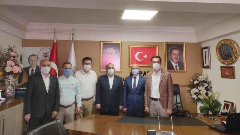 SİME-SEN'den AKP Gölcük'e ziyaret