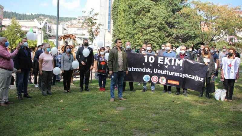 Ankara Garı katliamı İzmit'te anıldı