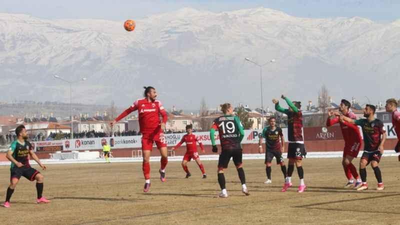 24Erzincanspor Amedspor'la 1-1 berabere kaldı
