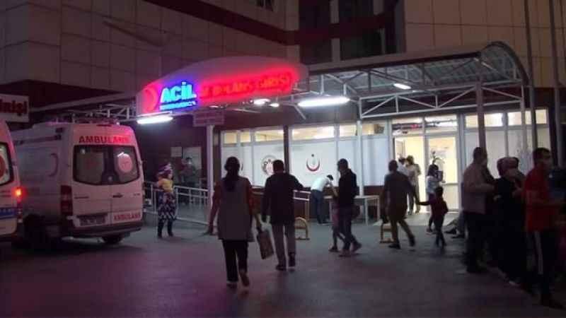 Şebeke suyu içip zehirlendiği iddia edilen 100 kişi hastanelere başvurdu