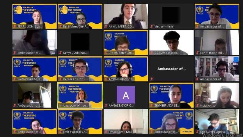 ODTÜ GV Özel Kocaeli Okulları KYÖV Özel Anadolu Lisesi öğrencileri 'Mun' konferansına katıldılar