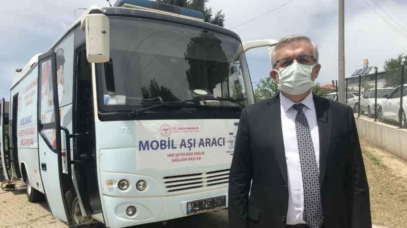 """Kocaeli'de """"mobil aşı ekipleri"""" binlerce kişiyi aşıladı"""