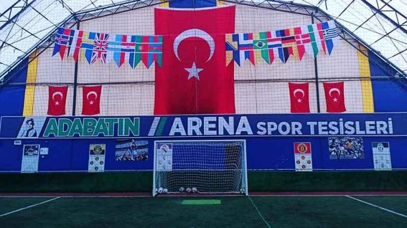 Ada Batın Arena futbolseverleri bekliyor