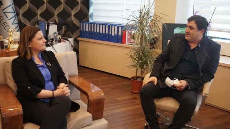 İKM Başkanı Öztürk'ten Hürriyet'e ziyaret