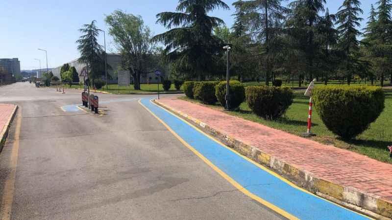 Brisa, İzmit fabrikasında Bisiklet Yolu Yapıyor