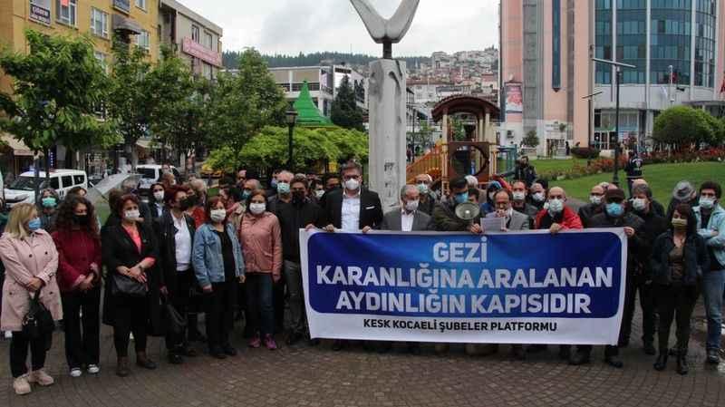 KESK: Gezi meşalesi yanmaya devam ediyor