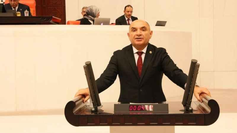 Tarhan Akmeşe'de yaşanan elektrik kesintisi sorununu meclise taşıdı