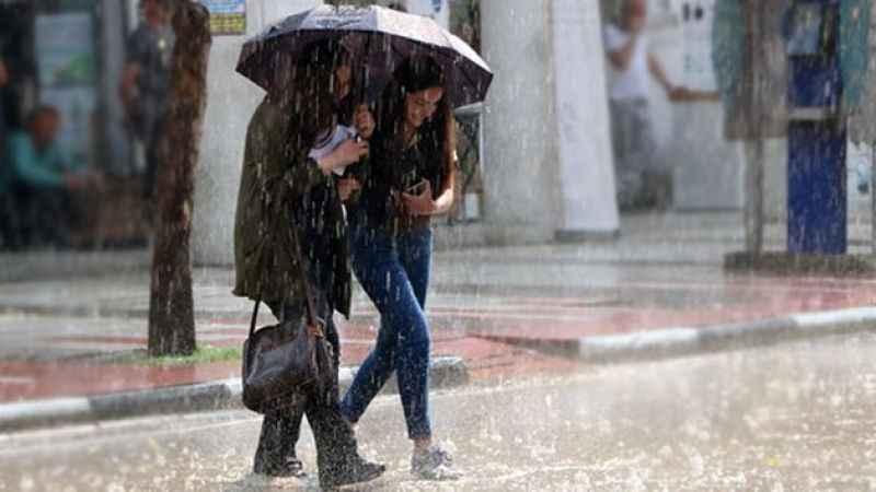 Meteoroloji uyardı: Kuvvetli yağışlara dikkat