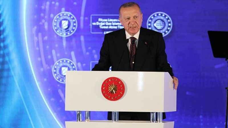 Erdoğan müjdeyi duyurdu! 135 milyar metreküp doğalgaz rezervi