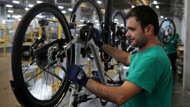 Türkiye'nin bisiklet ihracatı % 93,6 arttı