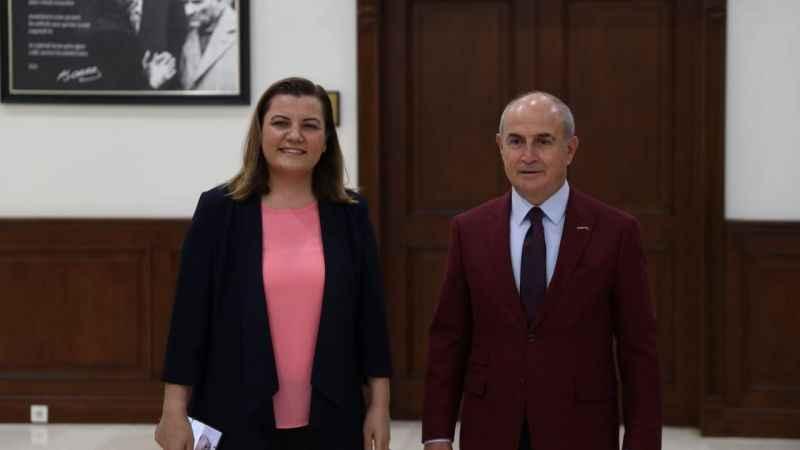 Hürriyet, Büyükçekmece Belediye Başkanı Akgün'ü ziyaret etti