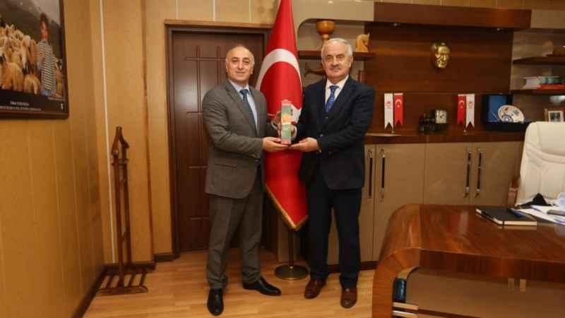 Başkan Aygün'den Tarım ve Orman Müdürü Çil'e ziyaret