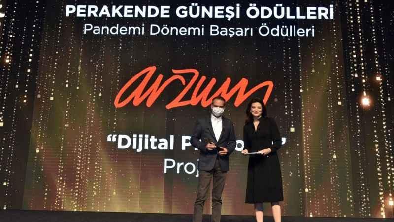 Arzum, Perakende Güneşi ödülünü aldı