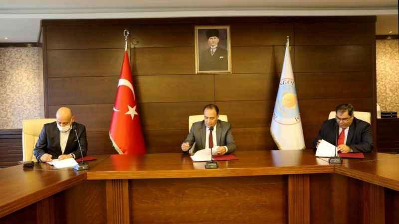 GTÜ FLY BVLOS Teknoloji Şirketi ile Bingöl Üniversitesi arasında protokol imzalandı
